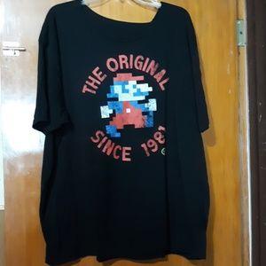 NINTENDO Mario Bros. Mario Since 1981 T-shirt 3X